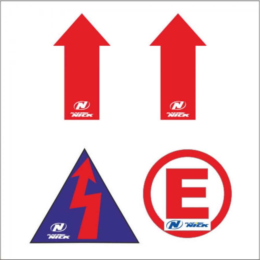 Set sticker FIA