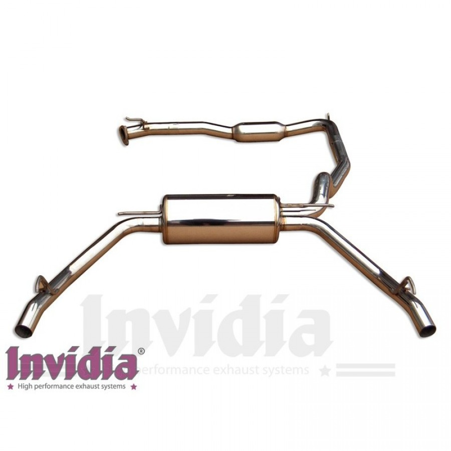 Invidia catback - Civic FN2