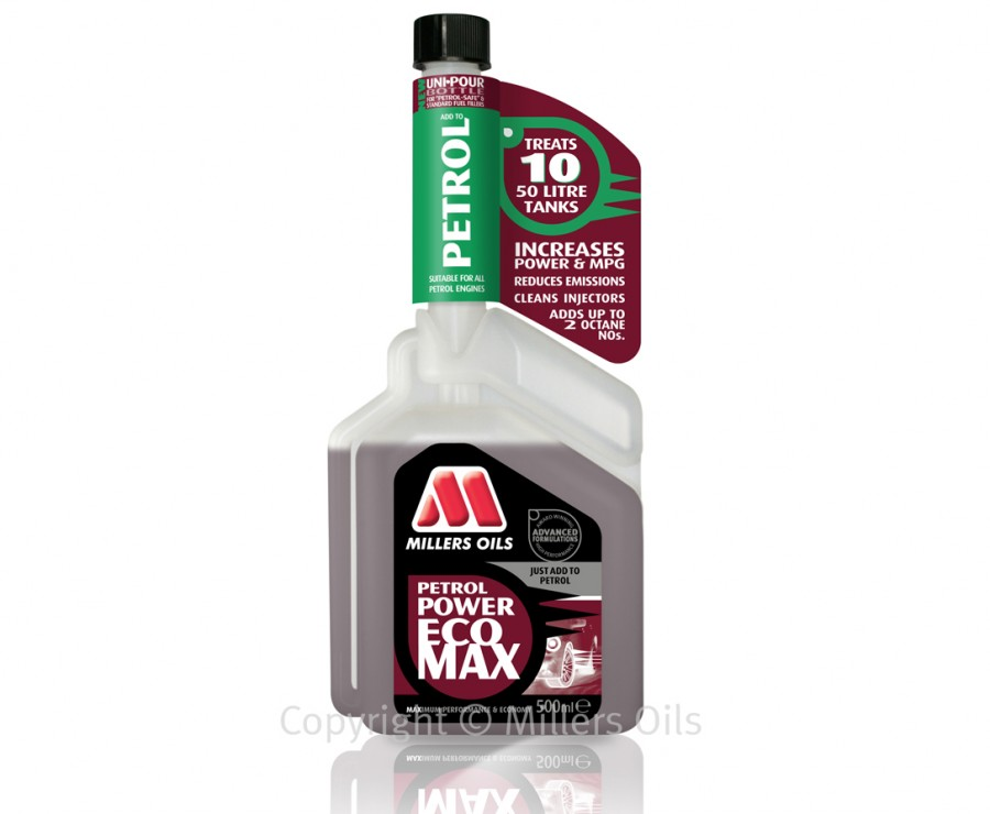 Millers Oils Petrol Power aditiv benzina - 500ml