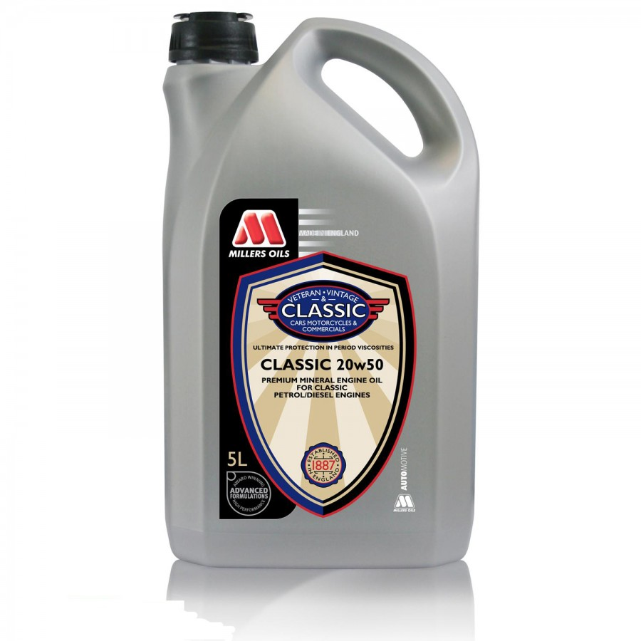 Millers Oils Classic oil 20W-50  5Litri