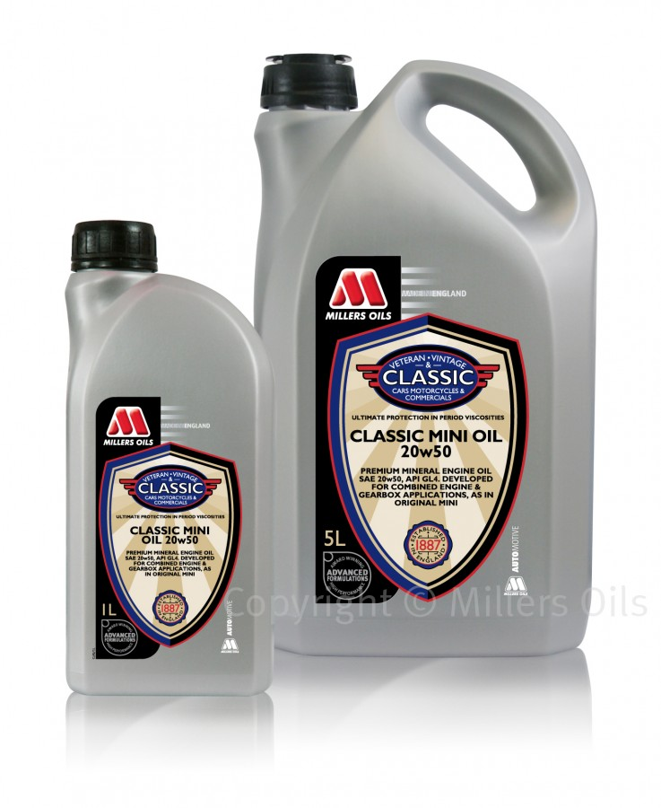 Millers Oils Classic Mini Oil 20W-50