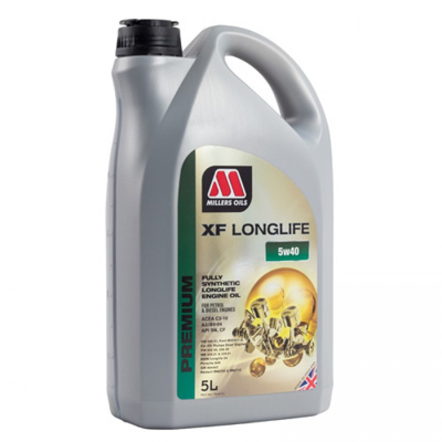 Millers Oils XF Longlife 5W-40  5Litri
