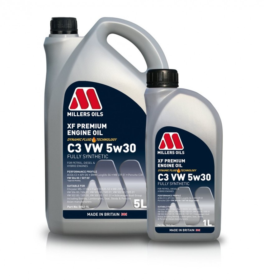 Millers Oils XF Longlife 5W-30  5Litri